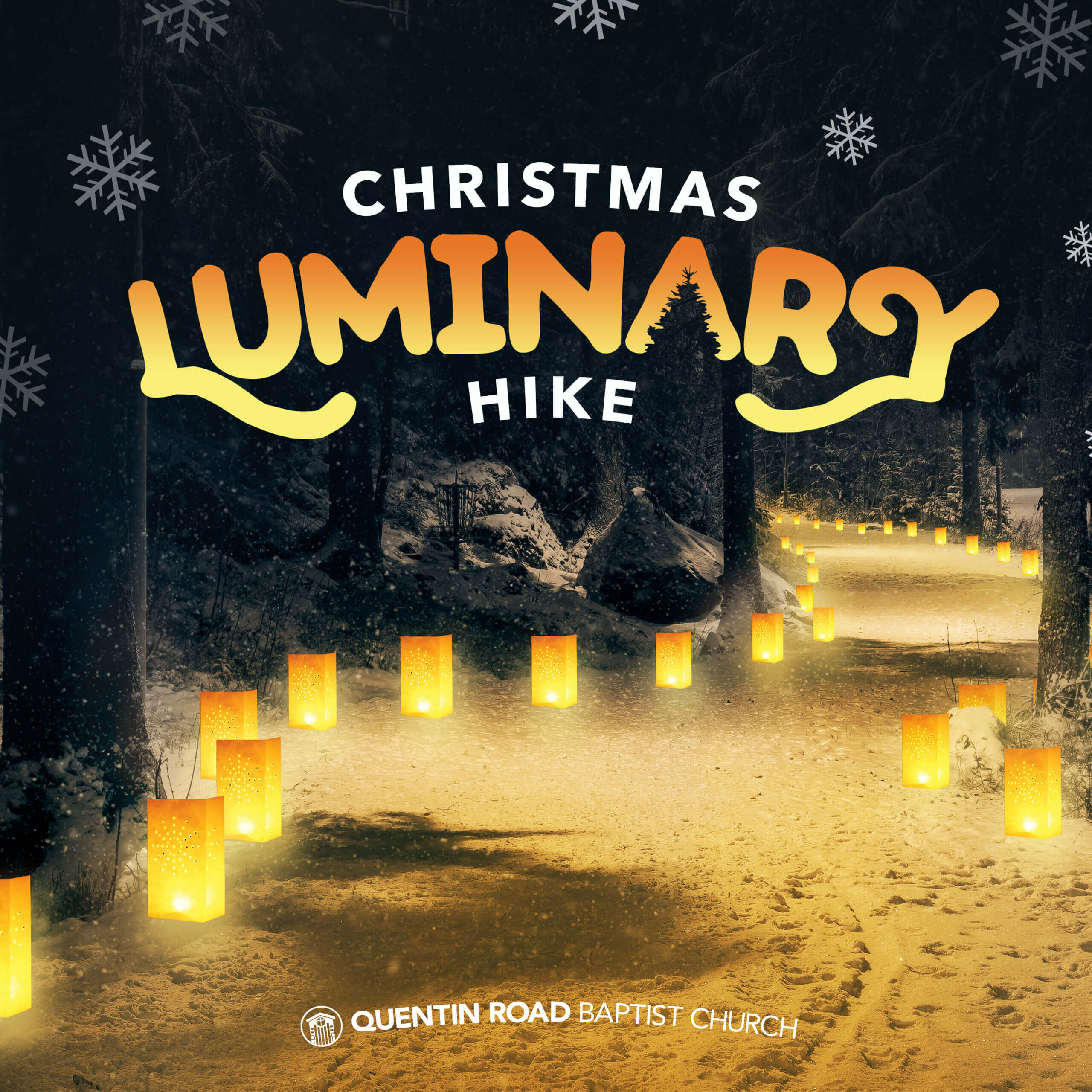 Quentin Road Baptist Church Christmas Luminary Hike