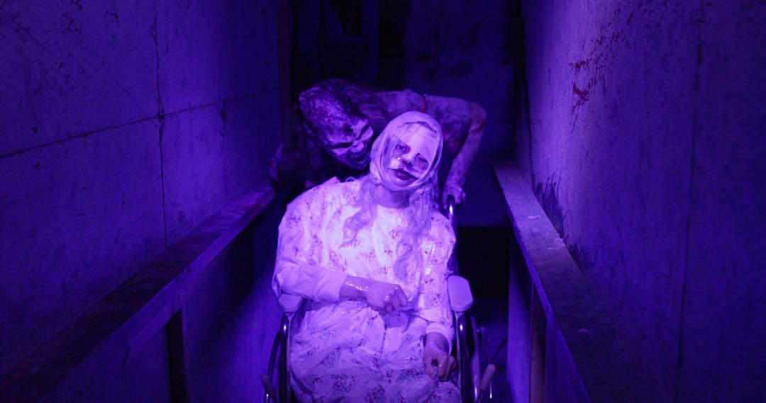 HAUNTED HOUSE 3 Persons includes Scare Vision Virtual Que