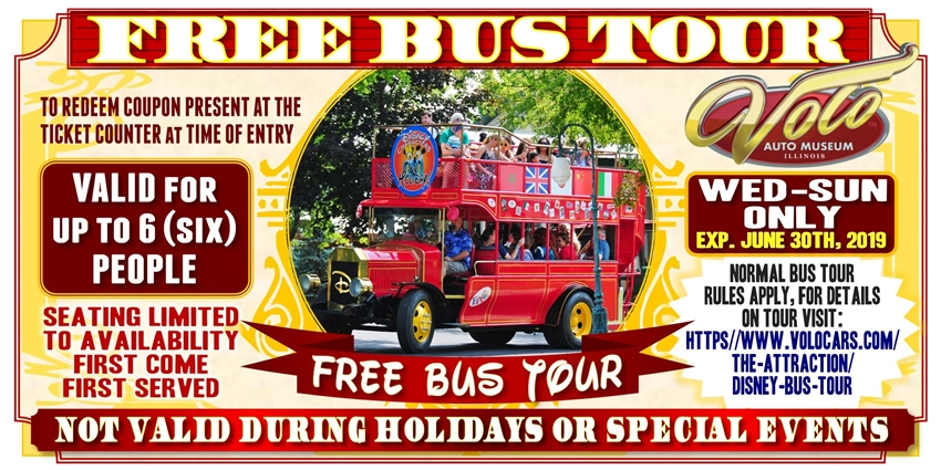 Ride the Disney Double Decker Bus Free!