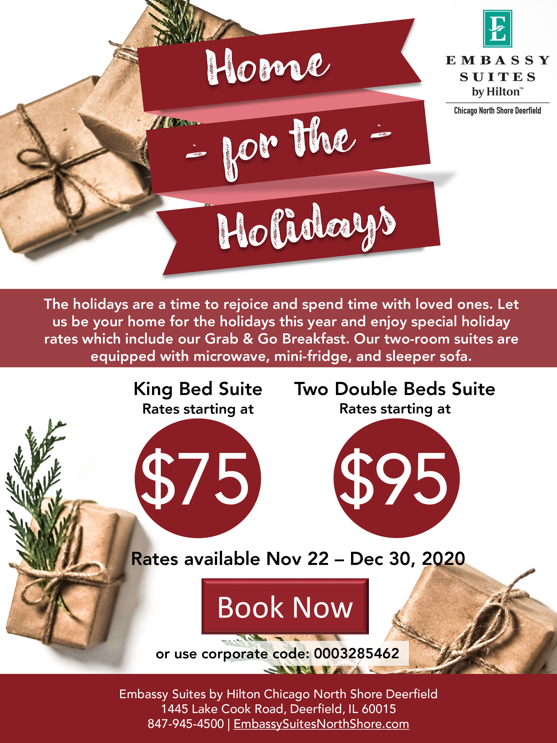 Embassy Suites - Home For The Holidays