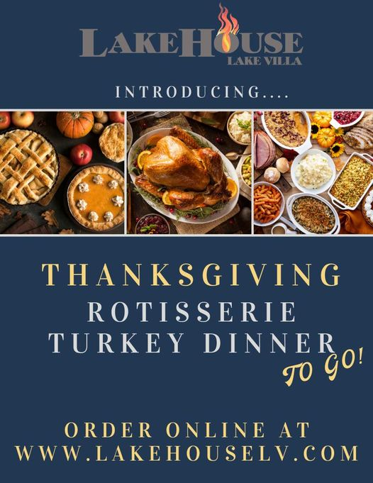 Lakehouse Thanksgiving Turkey Special - ($90.00)