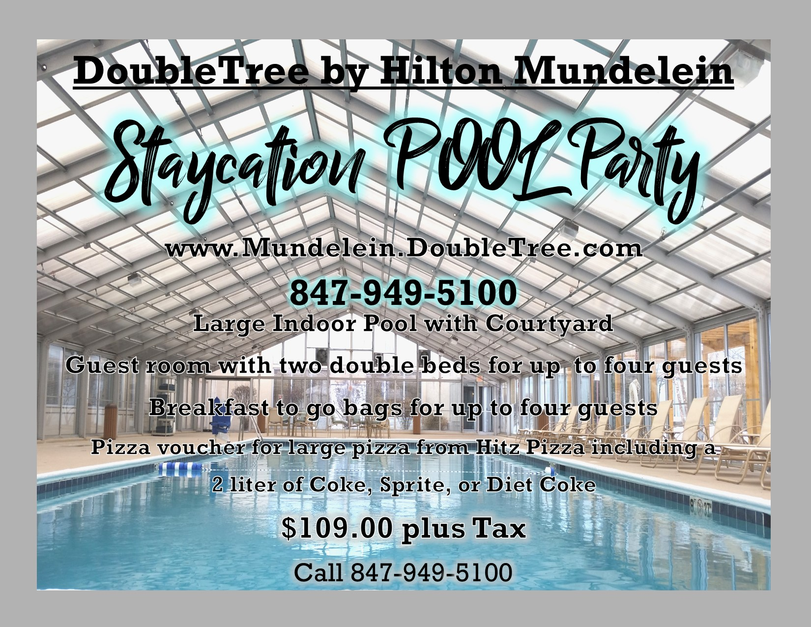 Staycation Pool Party!