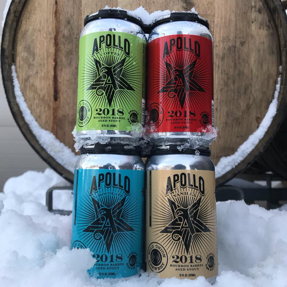 Wild Onion Beer in Cans
