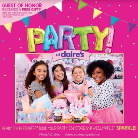 Deer Park Town Center - Party at Claire's