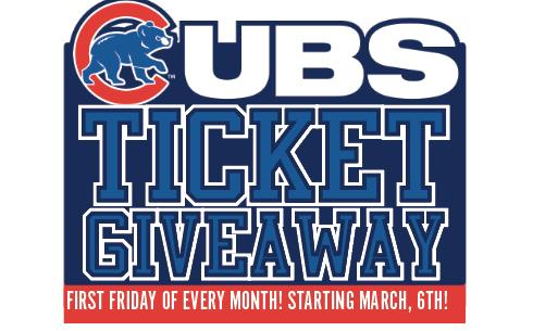 First Friday Cubs Ticket Giveaway