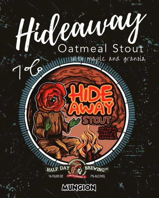 Half Day Brewing - Hideaway Stout