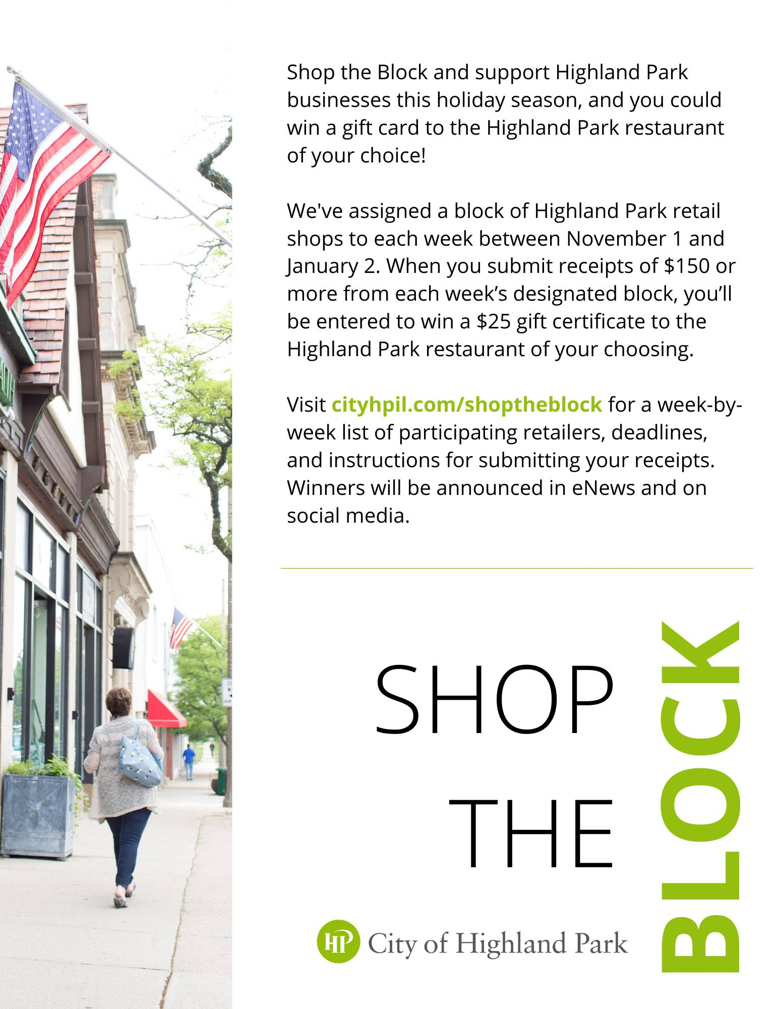 Downtown Highland Park - SHOP THE BLOCK