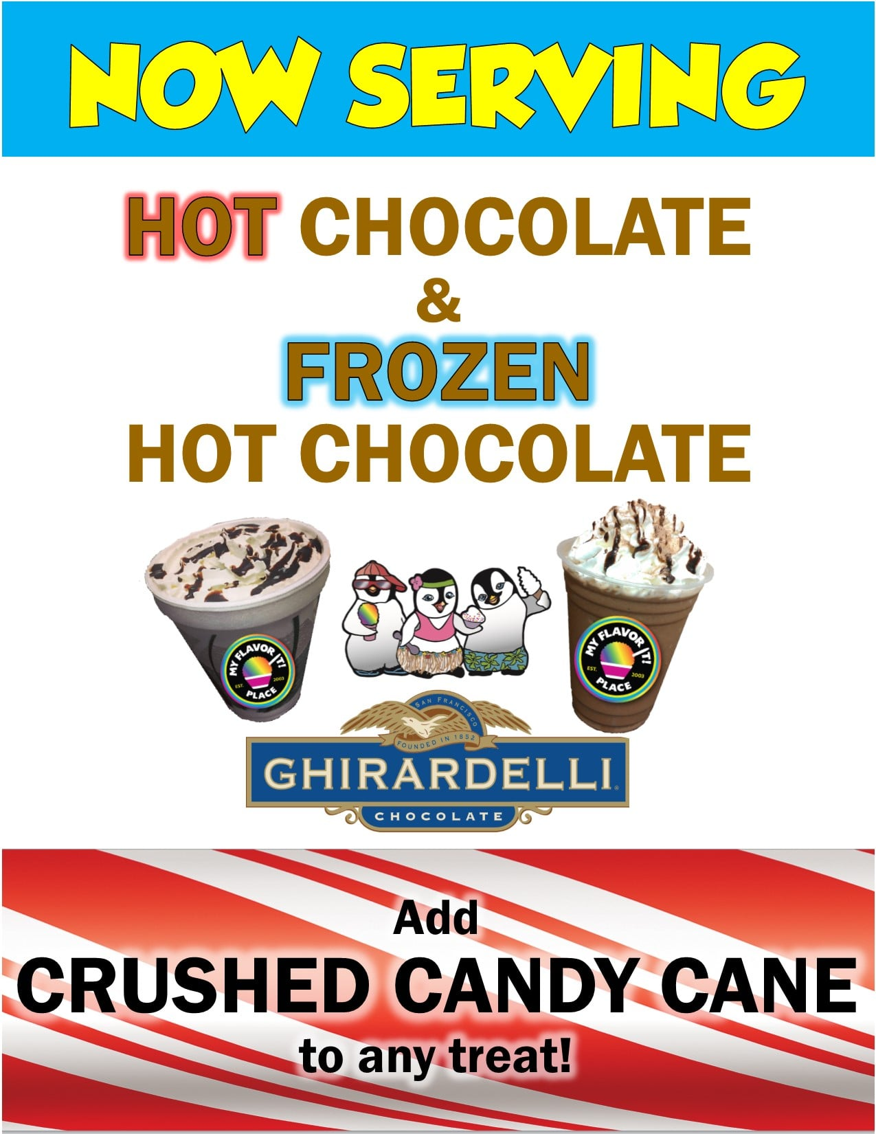 My Flavor It Place - Frozen Hot Chocolate