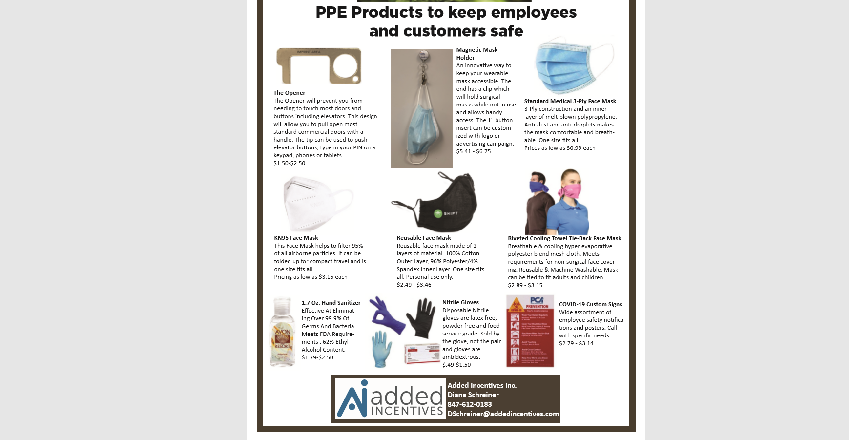 Exclusive Offer on PPE