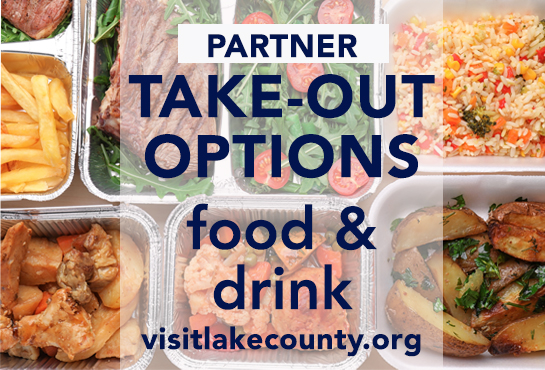 Visit Lake County Dining Venues with Take Out Service
