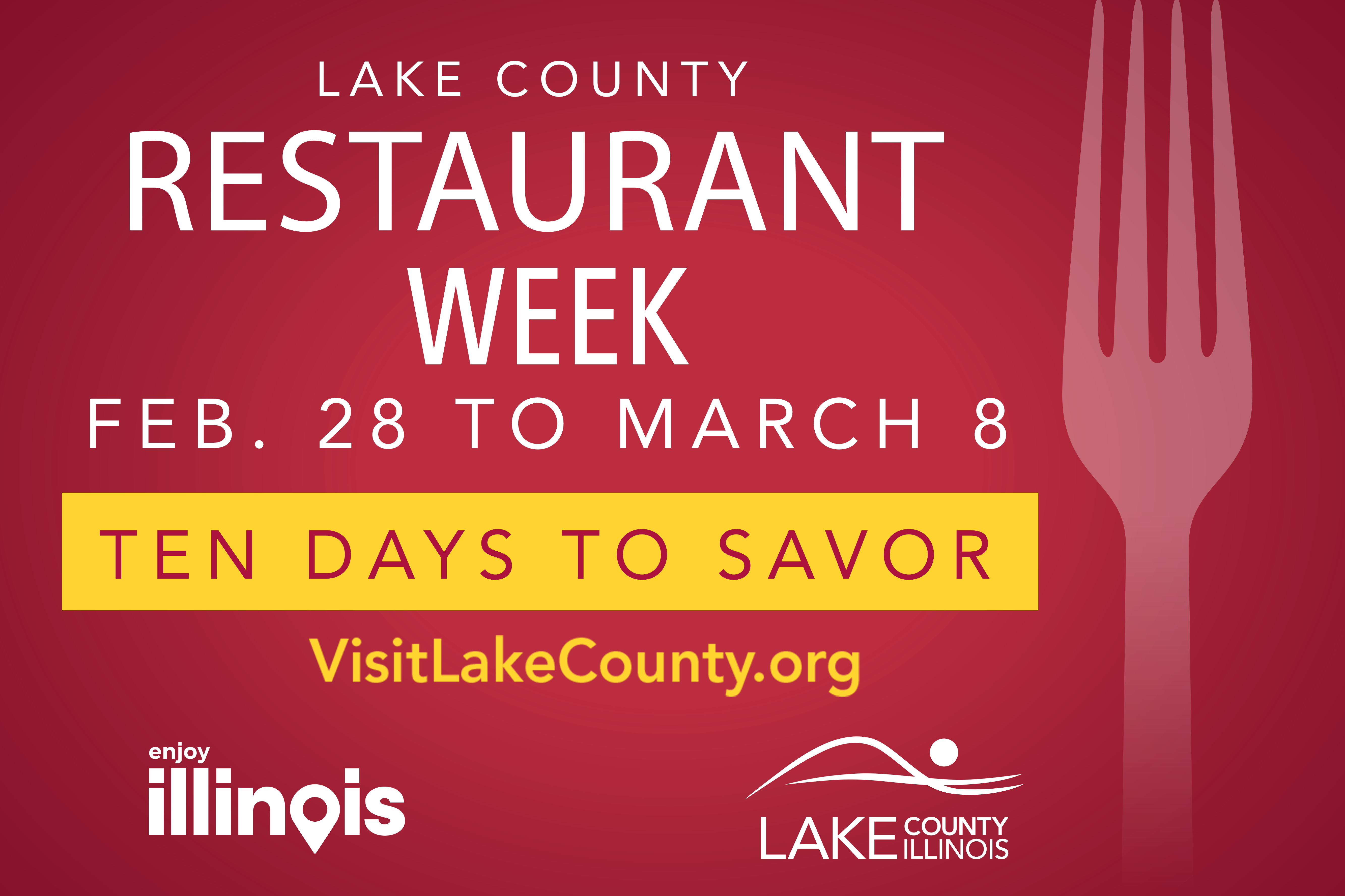 Visit Lake County Restaurant Week 2020