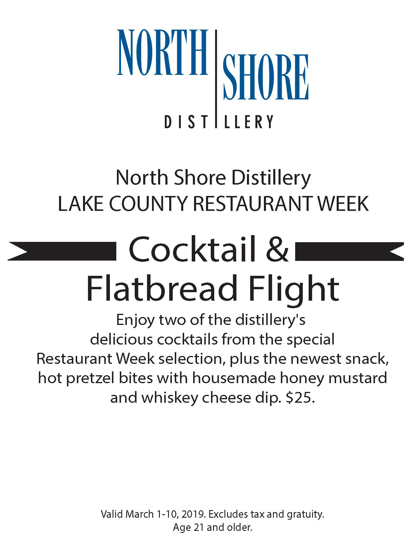 North Shore Distillery Tasting