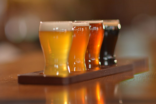 Mickey Finn's Beer Flight