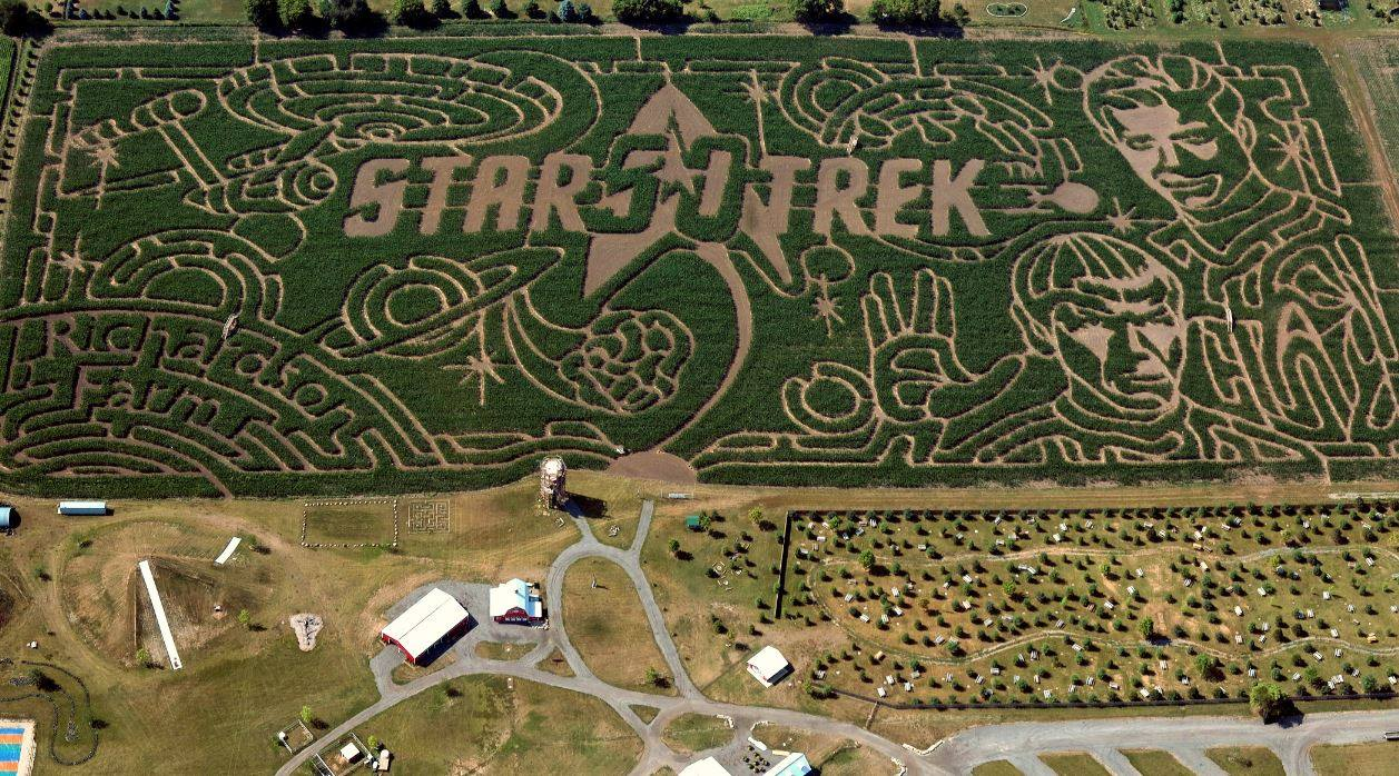 Richardson Adventure Farm Corn Maze
