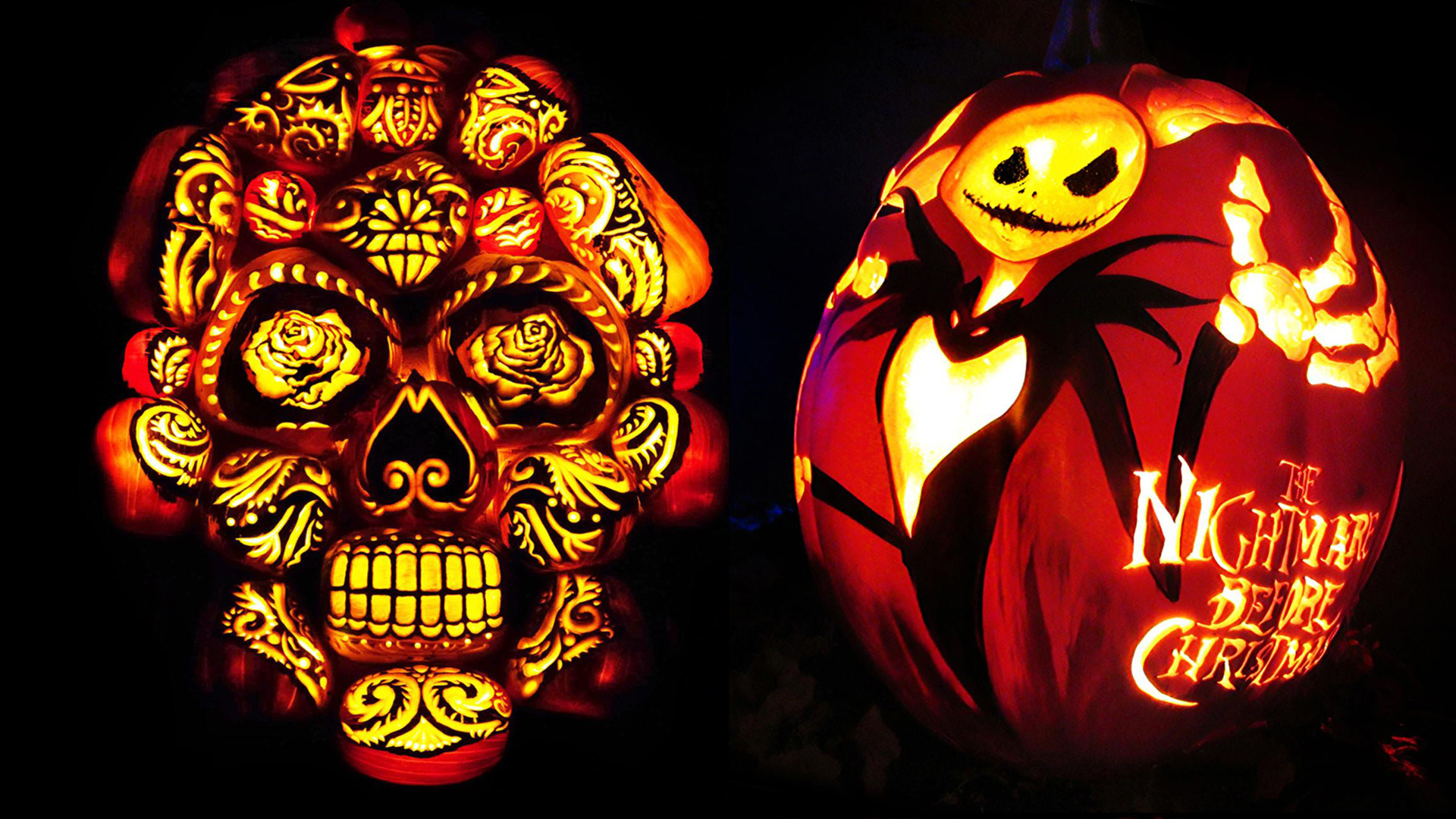Night of 1,000 Jack-o'-Lanterns at Chicago Botanic Gardens