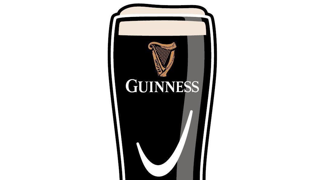 Guinness Pint Engraving at Mariano's Vernon Hills