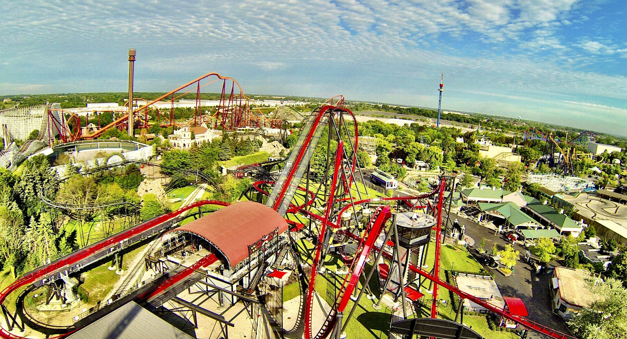 Six Flags Great America Opens for the 2021 Season