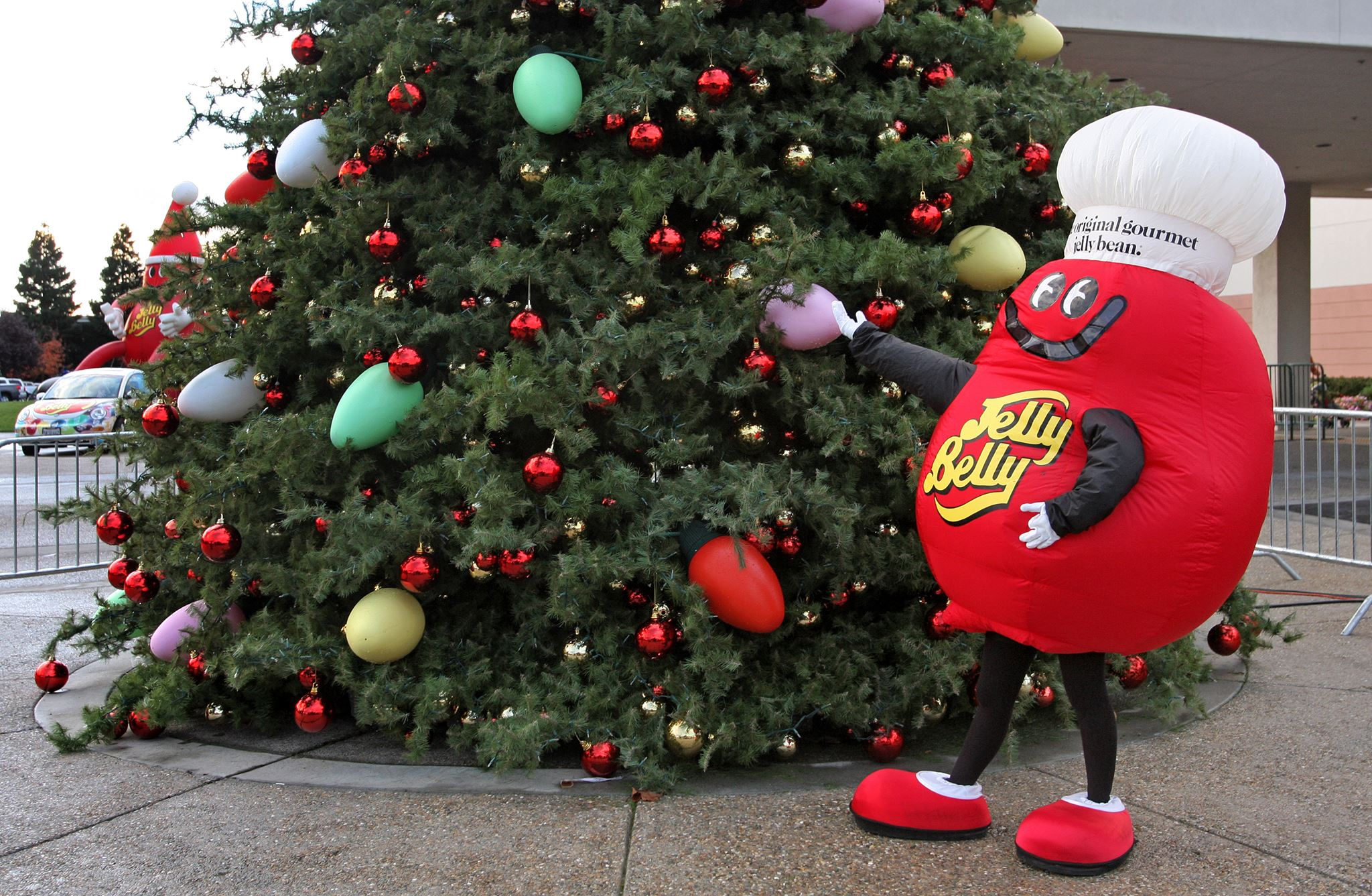 Jelly Belly's Tree Lighting and Celebration