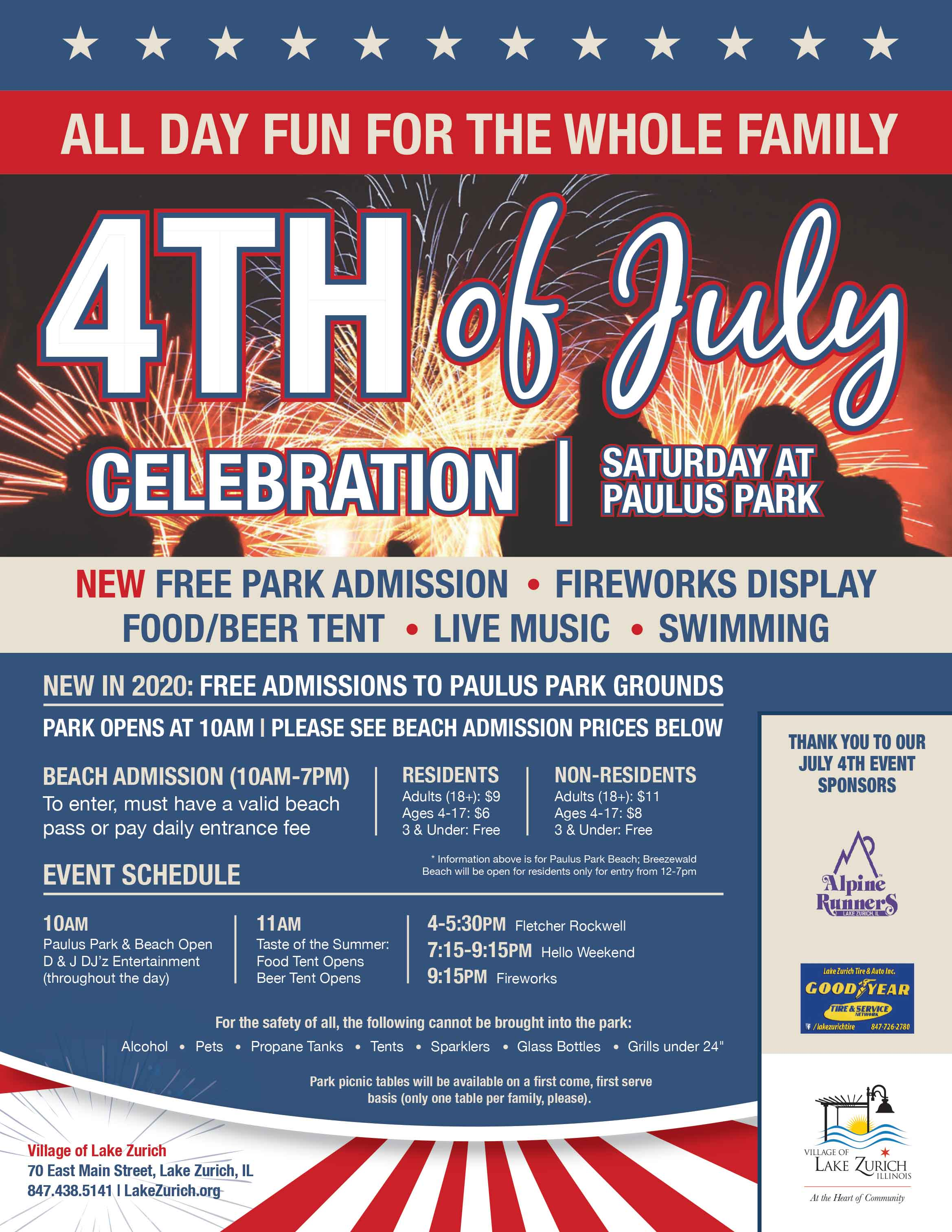 Lake Zurich 4th of July Celebration