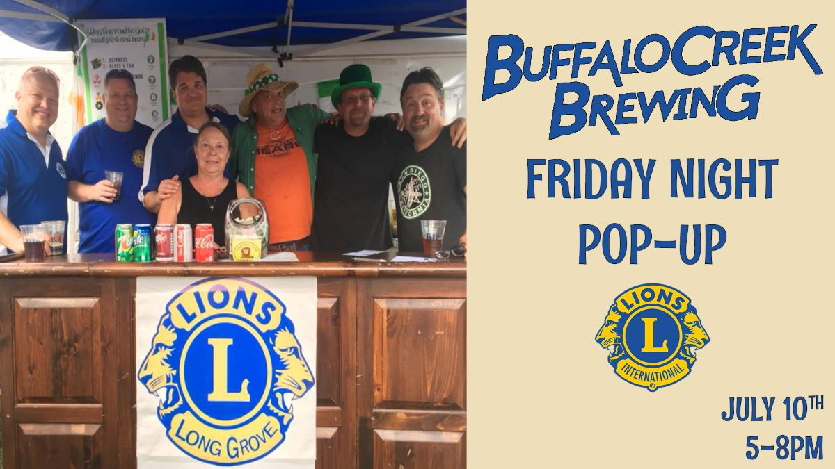 Friday Night Pop-Up with the Lions Club of Long Grove