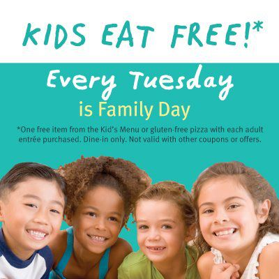 Kids Eat Free Tuesday