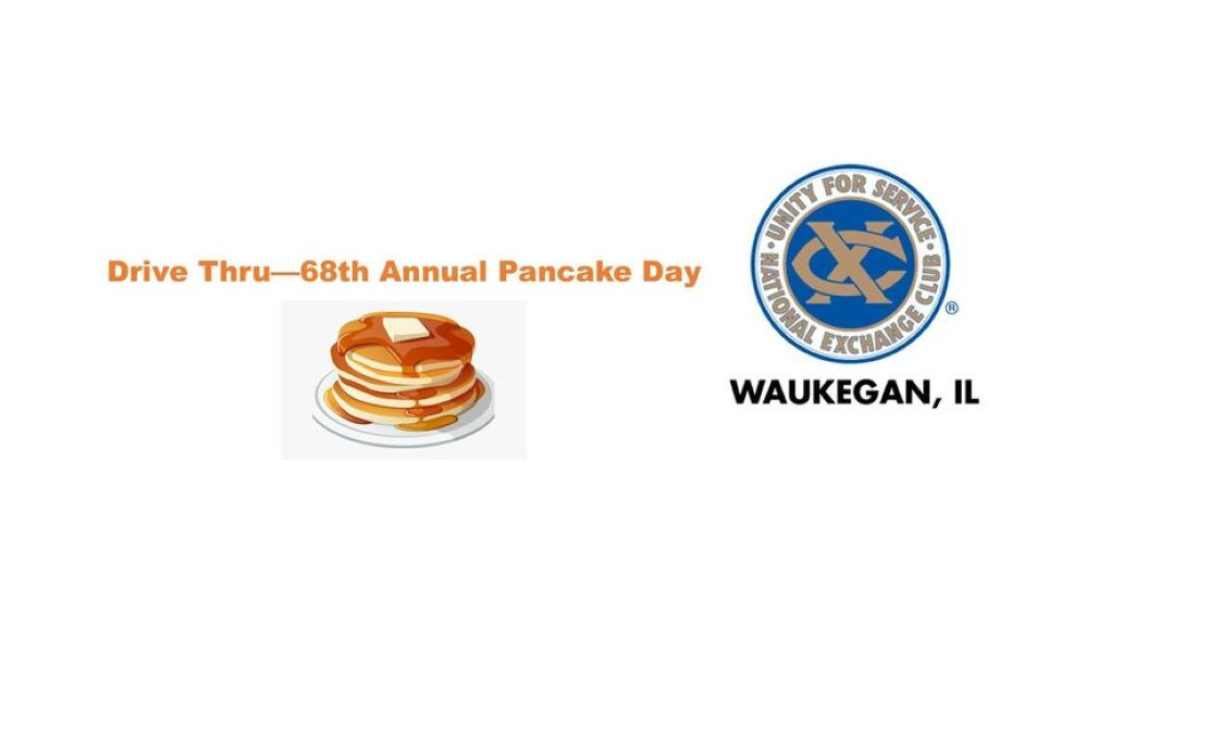 1st Drive Thru - 68th Annual Pancake Day at Bonnie Brook Golf Course