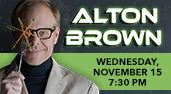 Alton Brown at the Genesee