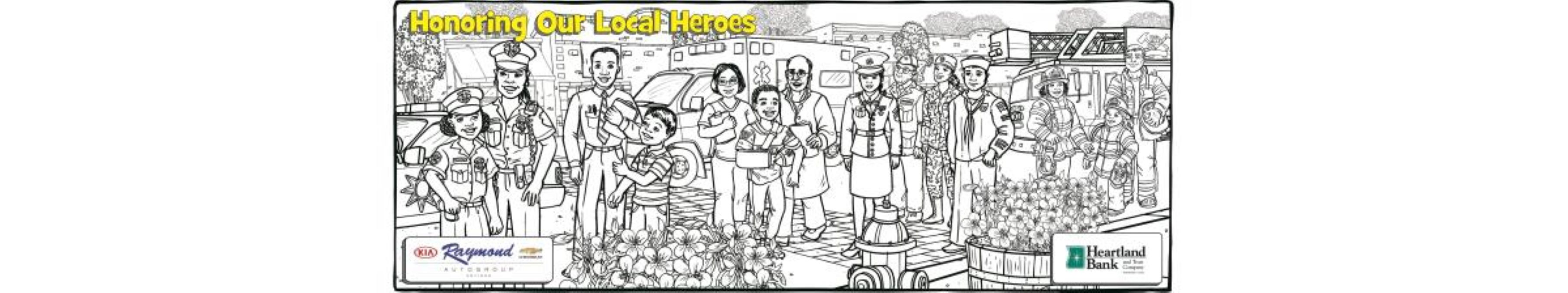Antioch's Honoring Our Heroes Community Wall Mural Project