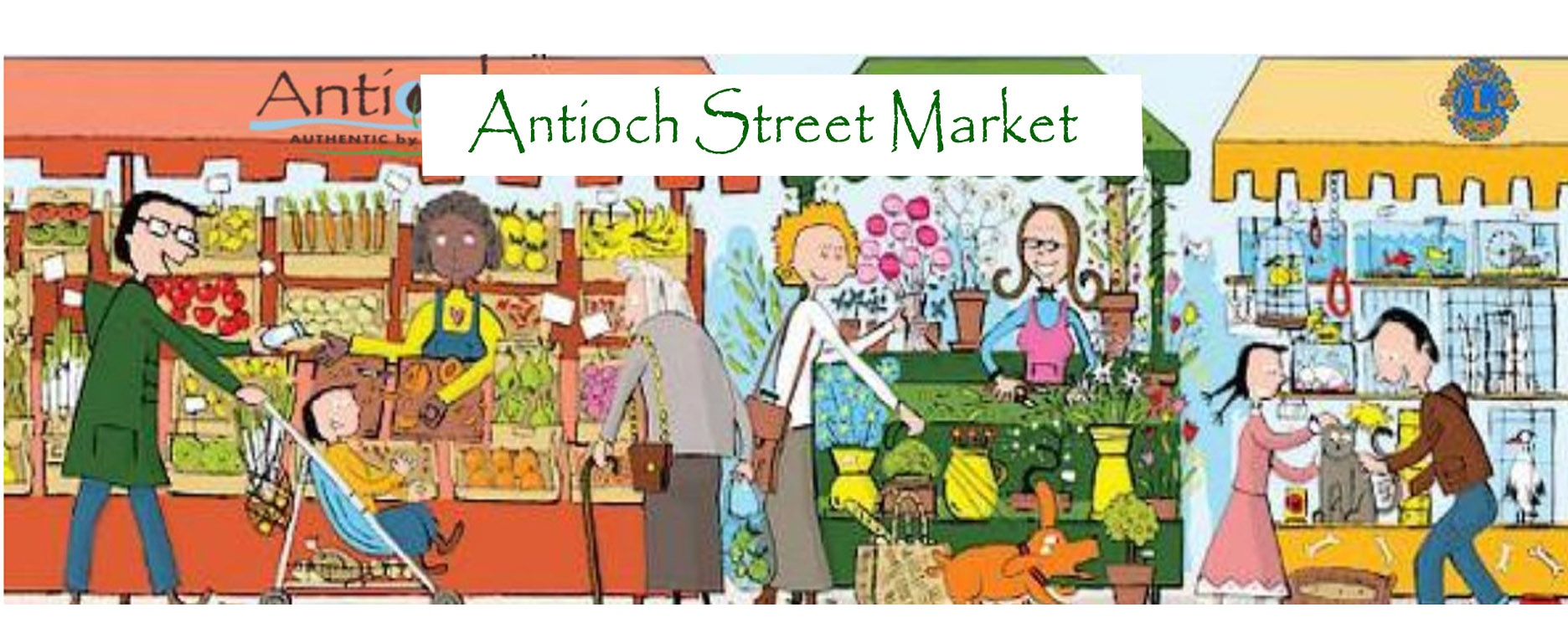 Antioch Street Market and Kids Flea Market