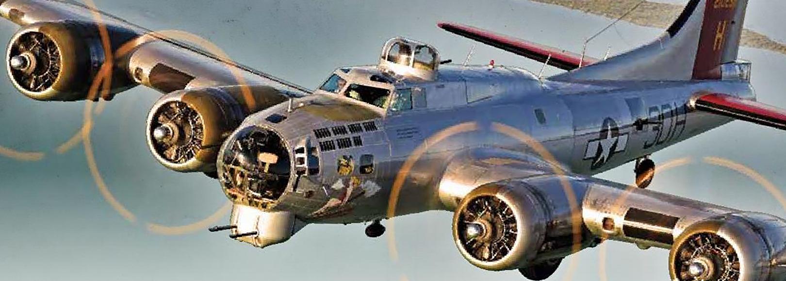 "Lake County, Illinois, CVB - - B-17 ""Aluminum Overcast"" World War II"