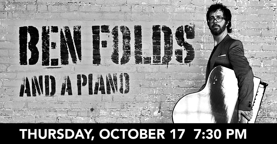 Ben Folds & a Piano at Genesee Theatre