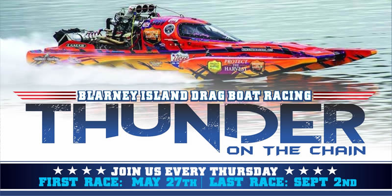 Thunder on the Chain Drag Boat Races