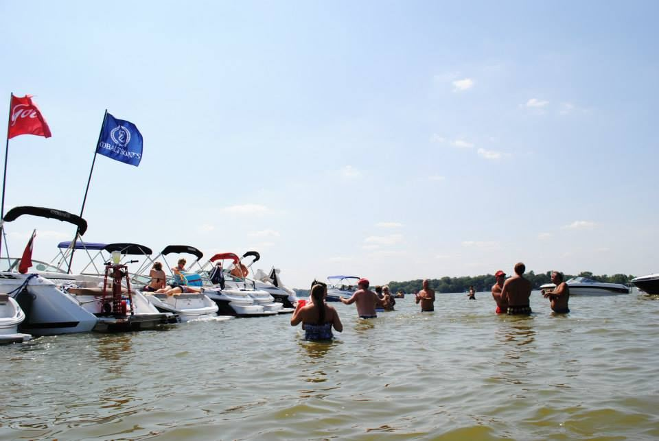 10th Annual Chain of Lakes Raft-up Party