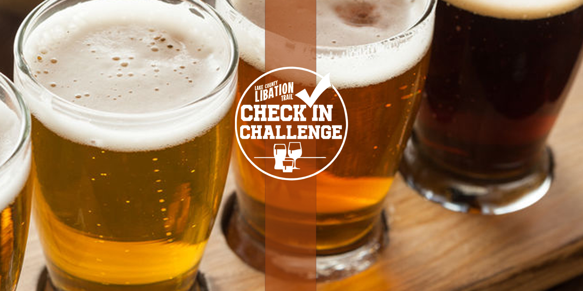 Lake County Libation Trail Month / Check-in Challenge