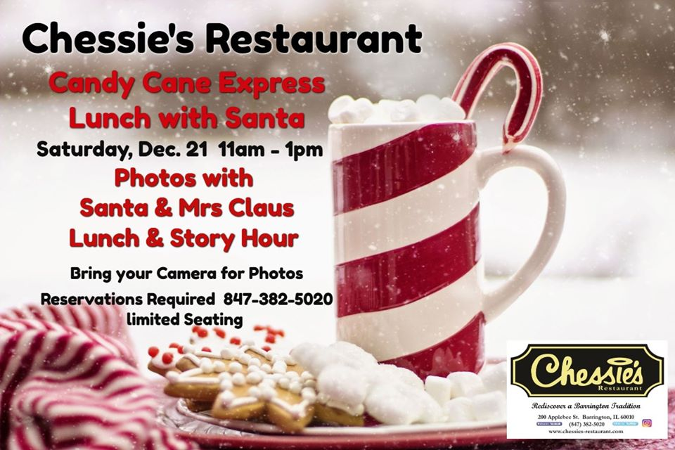 Candy Cane Express Lunch at Chessie's Restaurant