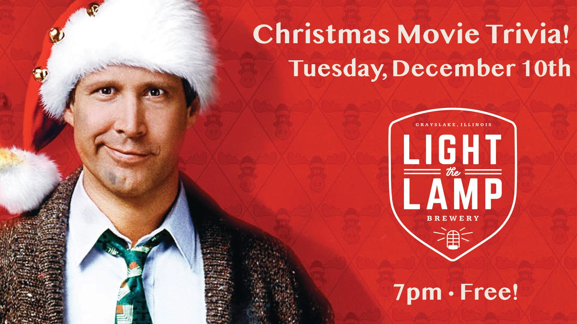 Christmas Movie Trivia at Light the Lamp Brewery