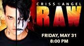Criss Angel Raw at the Genesee Theatre