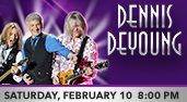 Dennis DeYoung at the Genesee Theatre