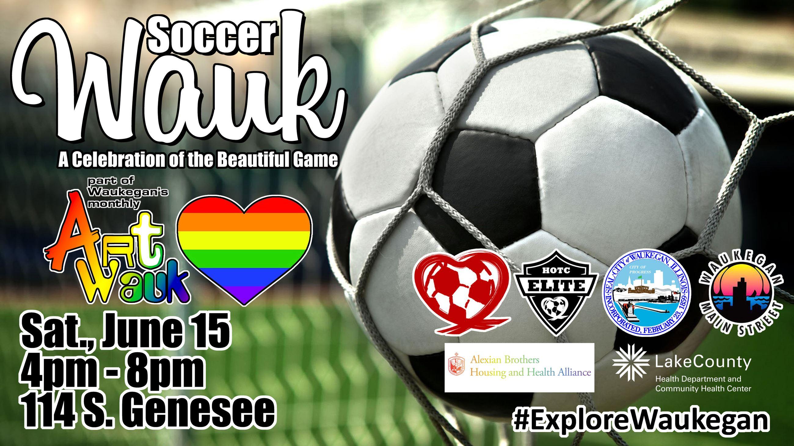 Lake County, Illinois, CVB - - ArtWauk/PrideWauk/SoccerWauk