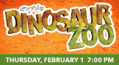 Erth's Dinosaur Zoo at the Genesee Theatre