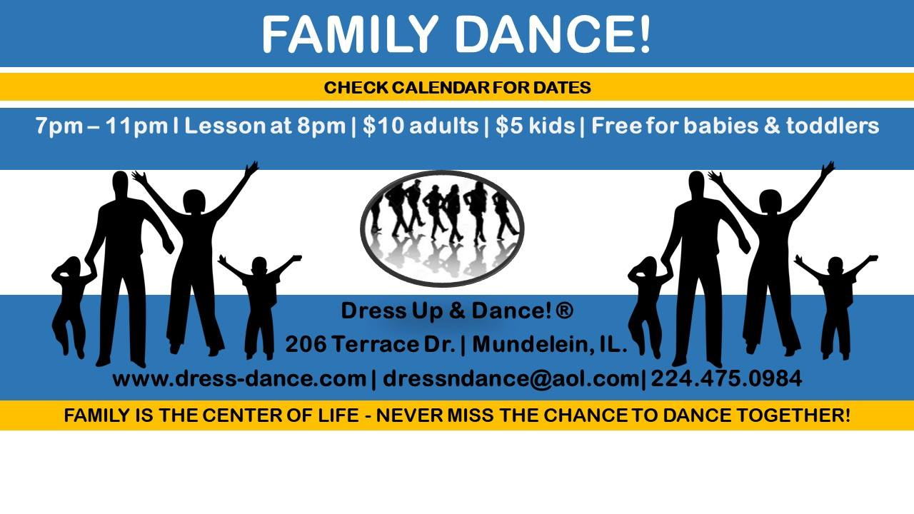 Family Dance at Dress Up & Dance