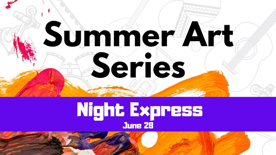 Fox Lake Summer Art Series: Night Express