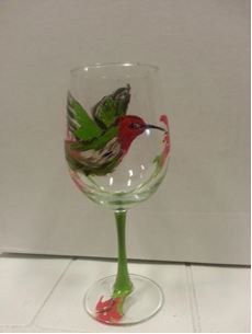 Wine Glass Painting Event at Vigneto del Bino