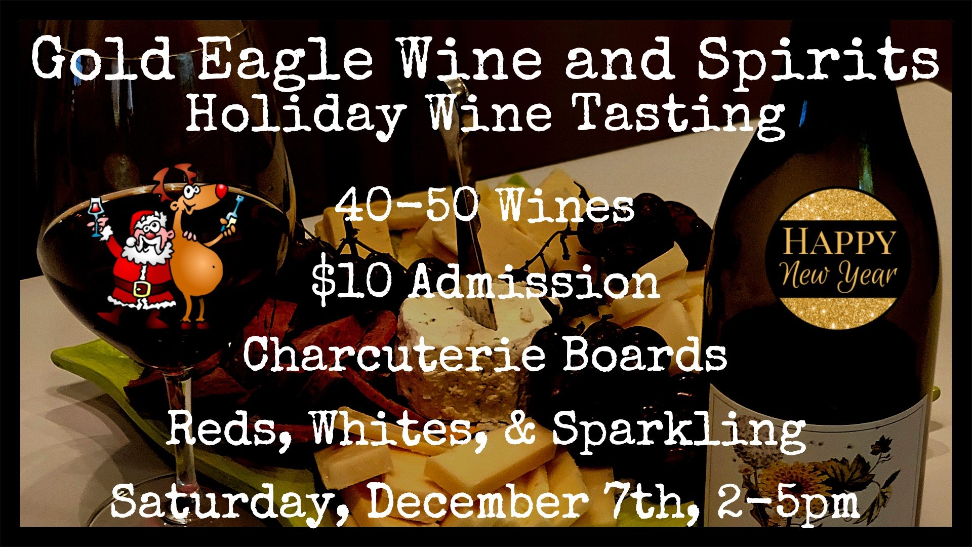 Gold Eagle Holiday Wine Tasting in Libertyville
