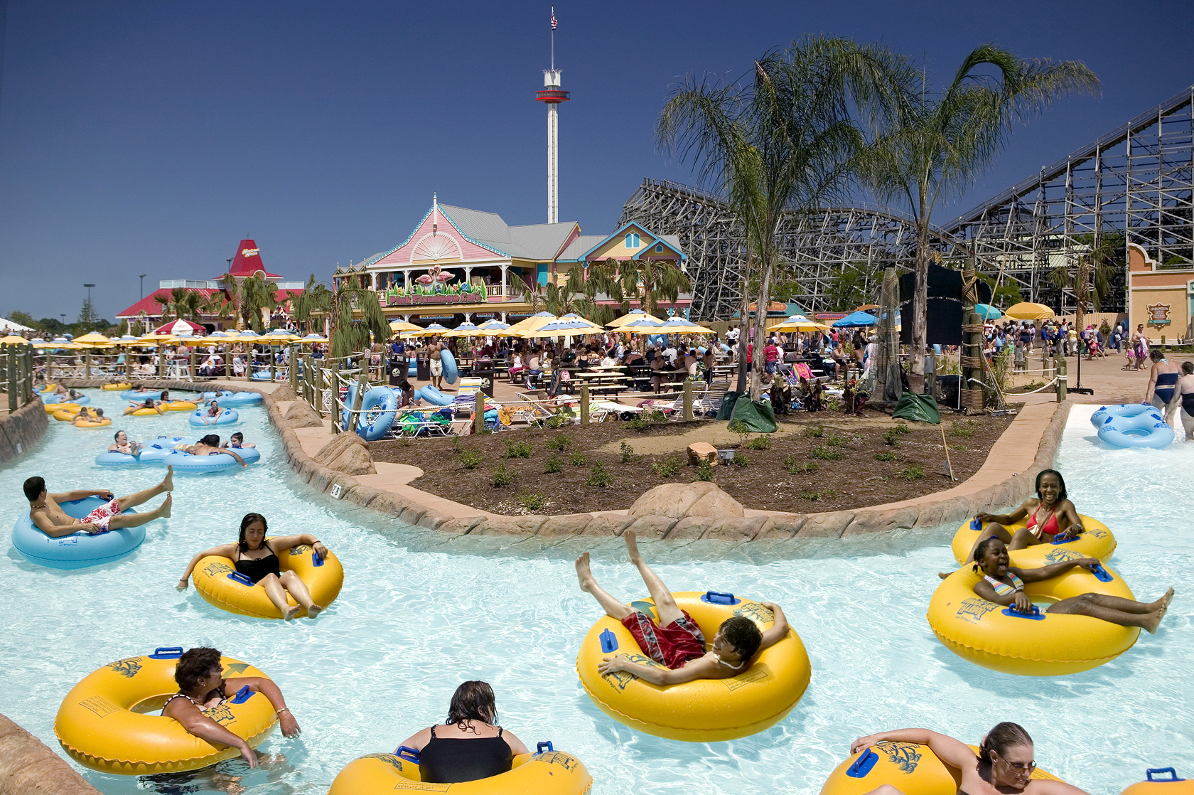 Hurricane Harbor Open to the General Public
