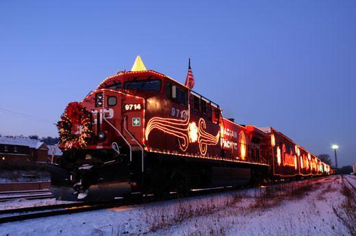 Lake County, Illinois, CVB - - Holiday Train in Viking Park