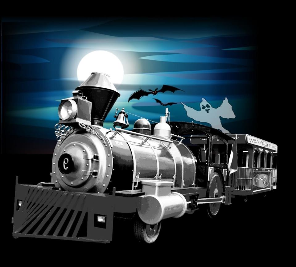 Haunted Train Tours at Volo Auto Museum