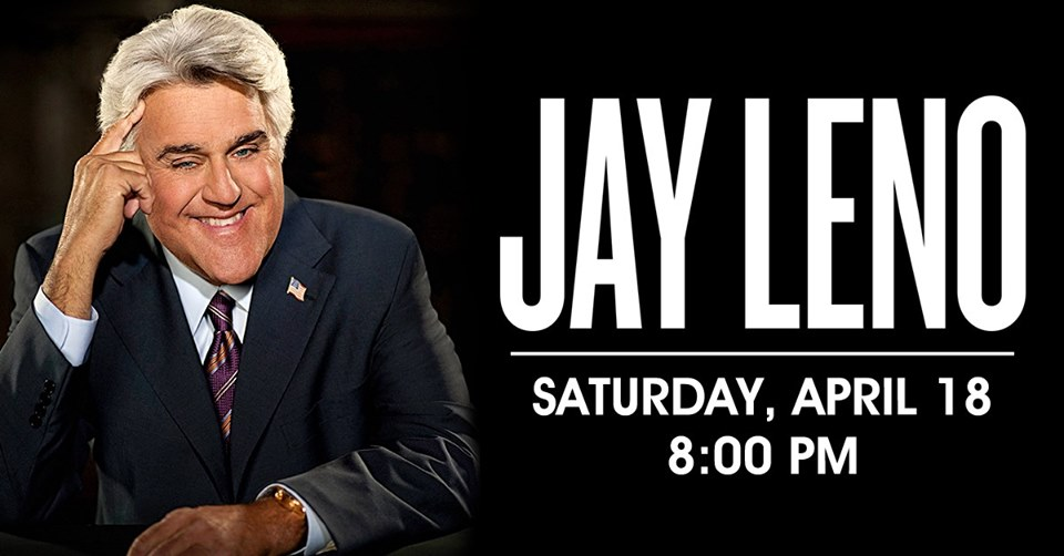 Jay Leno at the Genesee Theatre