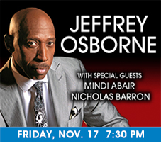 Jeffrey Osborne at the Genesee Theatre