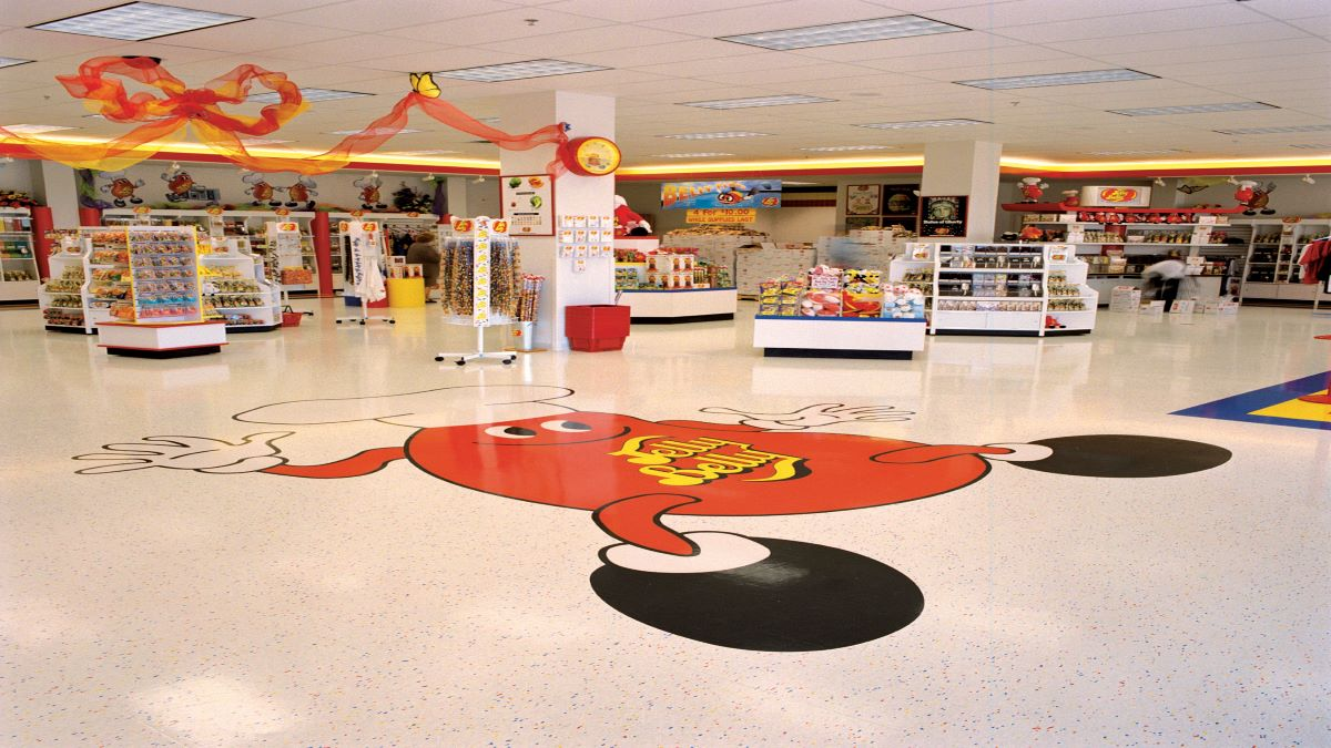 Liquidation Sale at Jelly Belly Visitor Center Store